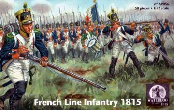 French Line Infantry 1815 · WAT AP056 ·  Waterloo 1815 · 1:72