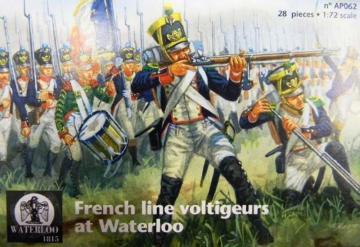 French line voltigeurs at Waterloo · WAT AP062 ·  Waterloo 1815 · 1:72
