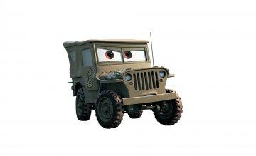 Disney CARS Sarge · ZV 2024 ·  Zvezda · 1:43