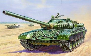 Russ.Main Battle Tank T-72 · ZV 3552 ·  Zvezda · 1:35
