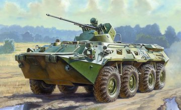 Russian BTR-80A Personnel Carrier · ZV 3560 ·  Zvezda · 1:35