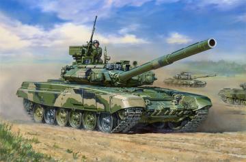 Rus. Kampfpanzer T-90 · ZV 3573 ·  Zvezda · 1:35