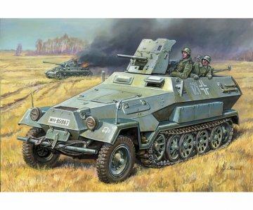 WWII Dt. Sd.Kfz.251/10 Halbkette · ZV 3588 ·  Zvezda · 1:35