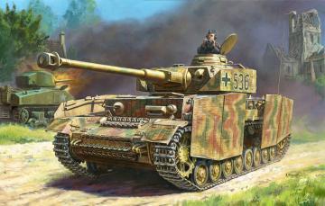 Panzer IV Ausf. H · ZV 3620 ·  Zvezda · 1:35