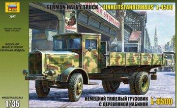 WWII Dt.Trans.LKW L4500S Einheitsk. · ZV 3647 ·  Zvezda · 1:35