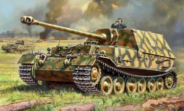 Sd. Kfz.184 Ferdinand Tiger · ZV 3653 ·  Zvezda · 1:35