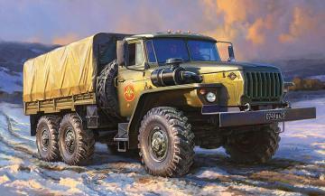 Ural 4320 - Russischer Truck · ZV 3654 ·  Zvezda · 1:35