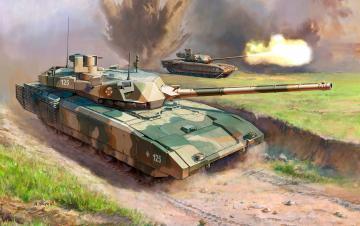 T-14 Armata Russ. Main Battle Tank · ZV 3670 ·  Zvezda · 1:35