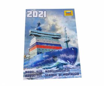 ZVEZDA Plastik-Katalog 2021 EN · ZV 4074 ·  Zvezda