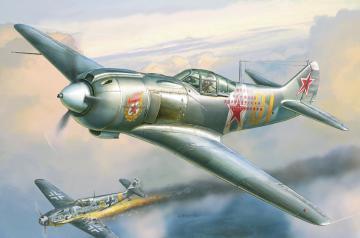 LA-5FN Sowj.Jäger · ZV 4801 ·  Zvezda · 1:48
