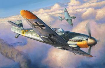 Messerschmitt Me Bf 109 G-6 · ZV 4816 ·  Zvezda · 1:48