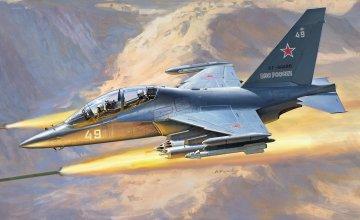 YAK-130 Russian trainer / fighter · ZV 4821 ·  Zvezda · 1:48