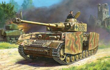 Panzer IV Ausf.H (Sd.Kfz.161/2) · ZV 5017 ·  Zvezda · 1:72