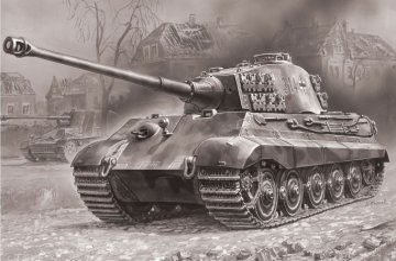 King Tiger · ZV 5023 ·  Zvezda · 1:72