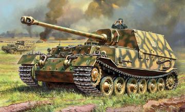 Sd.Kfz.184 Ferdinand Tiger · ZV 5041 ·  Zvezda · 1:72