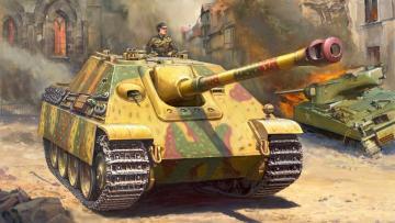Jagdpanther Sd.Kfz. 173 · ZV 5042 ·  Zvezda · 1:72