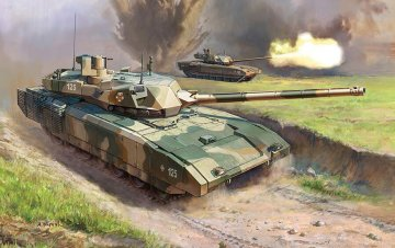 T-14 Armata Russian Battle Tank · ZV 5056 ·  Zvezda · 1:72