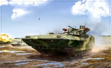 T-15 TBMP Armata Russian.heavy infantery · ZV 5057 ·  Zvezda · 1:72