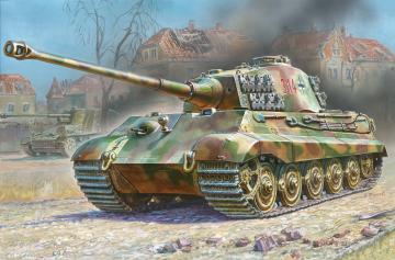 Sd.Kfz.182 King Tiger Henschel · ZV 6204 ·  Zvezda · 1:100