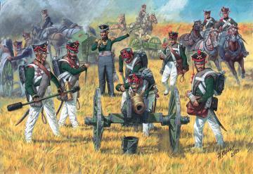 Russian Foot Artillery · ZV 6809 ·  Zvezda · 1:72
