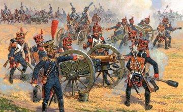 French Foot Artillery · ZV 6810 ·  Zvezda · 1:72