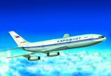Civil Airliner IL-86 · ZV 7001 ·  Zvezda · 1:144
