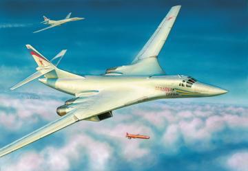 TU-160 Rus.Sup.Bomber BlackJack · ZV 7002 ·  Zvezda · 1:144