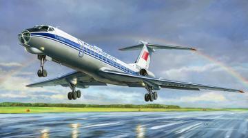 Tupolev Tu-134B´67 · ZV 7007 ·  Zvezda · 1:144