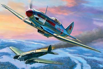 MIG-3 Soviet Fighter · ZV 7204 ·  Zvezda · 1:72