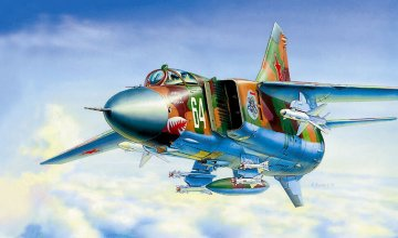 MIG-23 MLD Soviet Fighter · ZV 7218 ·  Zvezda · 1:72