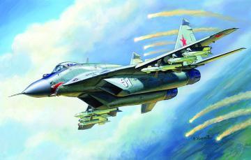 MiG-29C (9-13) · ZV 7278 ·  Zvezda · 1:72