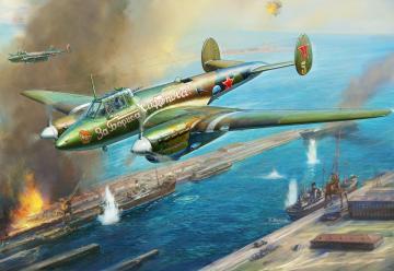Petlyakov Pe-2 Soviet fighter/bomber · ZV 7283 ·  Zvezda · 1:72