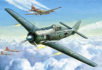 Focke Wulf 190A4 · ZV 7304 ·  Zvezda · 1:72