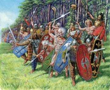 Gallic Infantry (WA) · ZV 8012 ·  Zvezda · 1:72