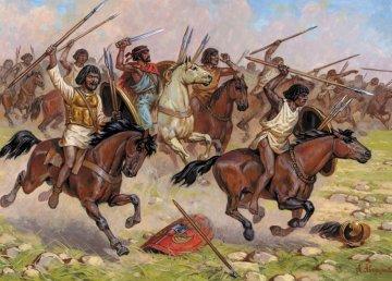 Carthaginian Cavalry III - I B.C. · ZV 8031 ·  Zvezda · 1:72