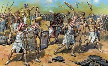 Egyptian Infantry · ZV 8051 ·  Zvezda · 1:72