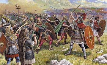 Roman Auxiliary Infantry · ZV 8052 ·  Zvezda · 1:72