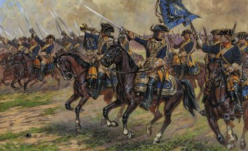 Swedish Dragoons of Charles XII · ZV 8057 ·  Zvezda · 1:72