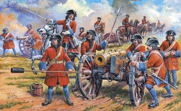 Rus.Artill.Peter the Great · ZV 8058 ·  Zvezda · 1:72