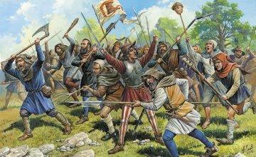 Medieval Peasant Army · ZV 8059 ·  Zvezda · 1:72