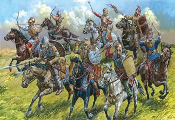 Scythian Cavalry VI-III B.C. · ZV 8069 ·  Zvezda · 1:72