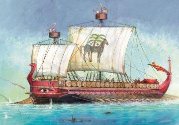 Carthaginian Warship III - I B.C. · ZV 9030 ·  Zvezda · 1:72