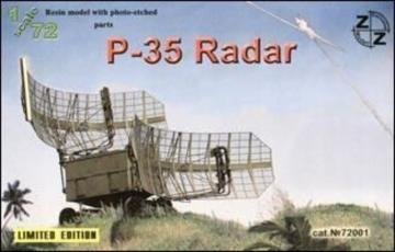 P-35 Soviet radar, resin/pe · ZZ 72001 ·  ZZ Modell · 1:72