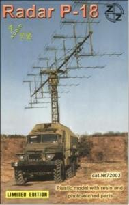 P-18 Soviet radar vehicle · ZZ 72003 ·  ZZ Modell · 1:72
