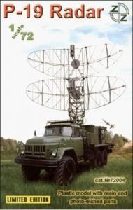 P-19 Soviet radar vehicle · ZZ 72004 ·  ZZ Modell · 1:72