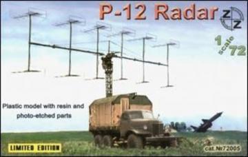 P-12 Soviet radar vehicle · ZZ 72005 ·  ZZ Modell · 1:72
