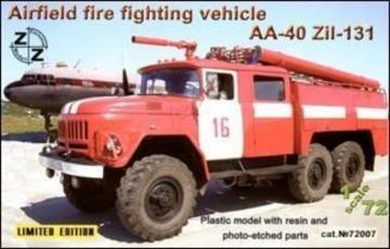 AA-40 ZiL-131 airf. fire fight. vehicle · ZZ 72007 ·  ZZ Modell · 1:72