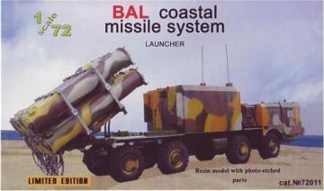 BAL coastal missile system, launcher · ZZ 72011 ·  ZZ Modell · 1:72