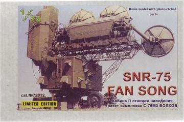 SNR-75 FAN SONG · ZZ 72012 ·  ZZ Modell · 1:72