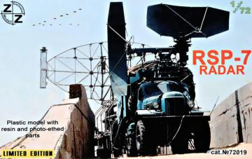 RSP-7 Radar, Limited Edition · ZZ 72019 ·  ZZ Modell · 1:72